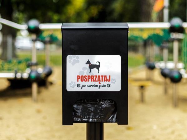 Dystrybutor woreczków Fibi zdjęcie w parku malaarchitektura.info.pl